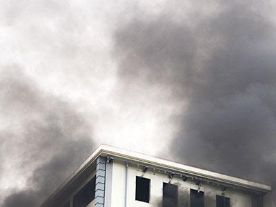 reducción de daños ocasionados por el humo